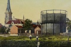 IJssel en gasfabriek