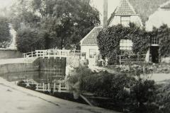 Sluis vanaf de Kromme Rijn